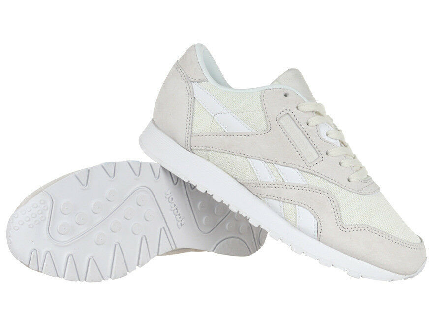 Reebok Classic Nylon Magic Hour Women's Sports Leather Sneakers Shoes Trainers