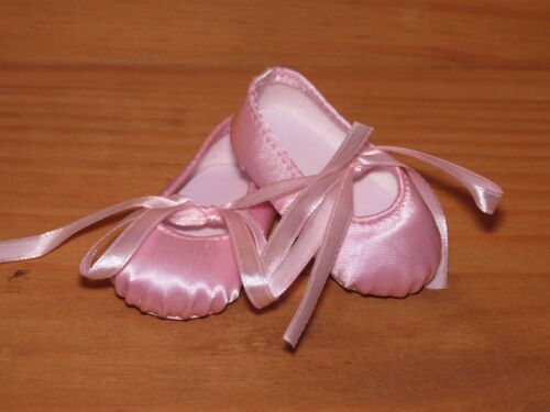 SHOES TO FIT THE AMERICAN GALOOB BABY FACE GIRL DOLL PINK HARD TOE BALLERINA