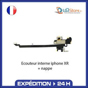 Écouteur interne IPHONE XR + Micro + CAPTEUR LUMIÈRE PROXIMITÉ HAUT PARLEUR