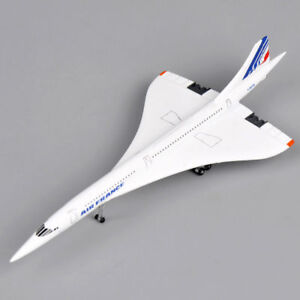 1-400-Scale-Air-France-1976-2003-Concorde-Plane-Model-Diecast-Aircraft-Toys-Gift