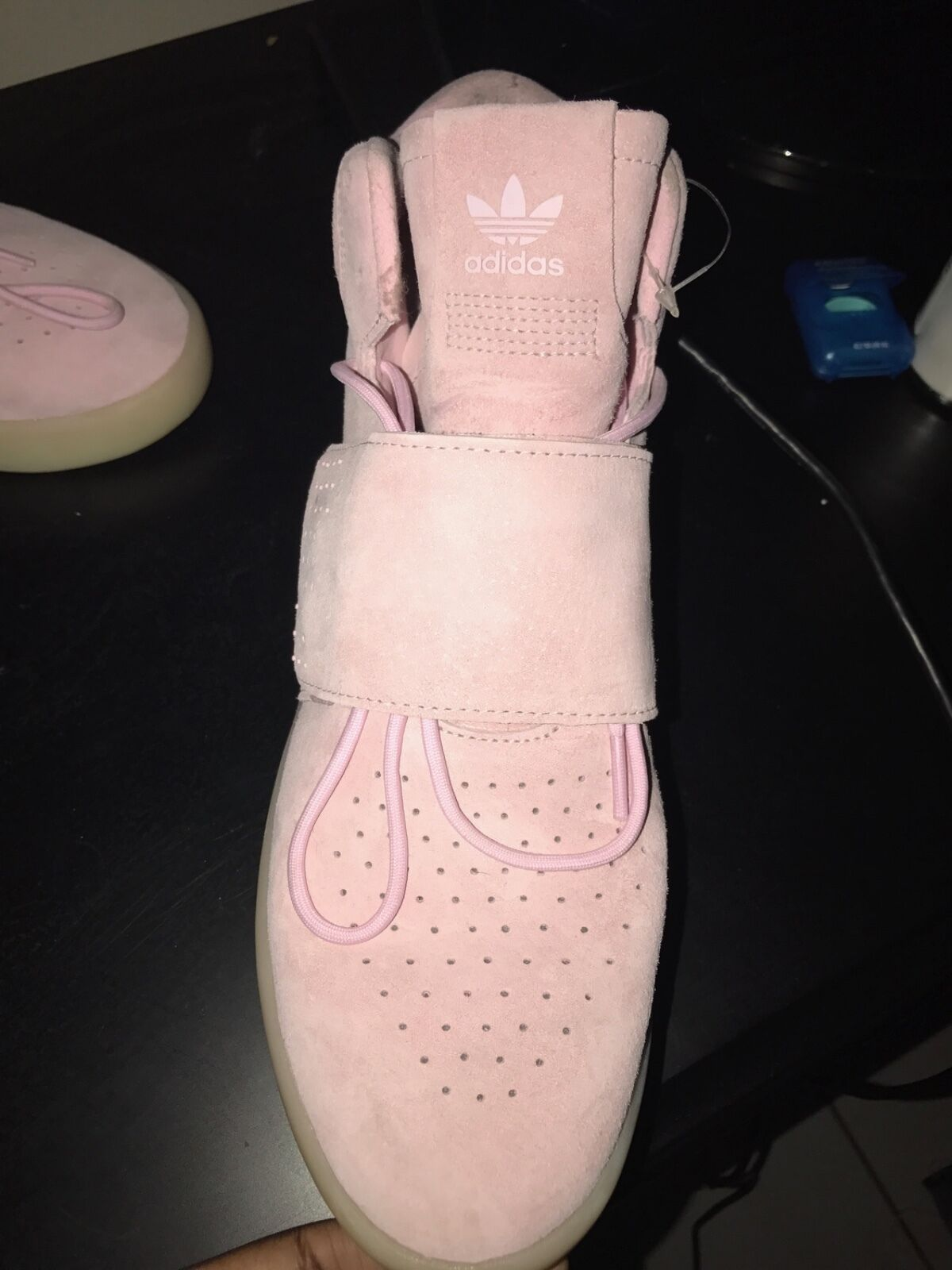 New without box Women's  pink adidas shoes size 10