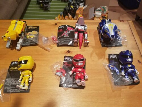 The Loyal Subjects Power Rangers Movie Set of 6