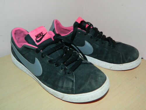 Suede 4 Lace Girls Up Nike Uk Black 36 Eur 5 Trainers R5qngxA1n