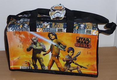 Star Wars Rebels Borsa Viaggio Sport Tracolla 40x25cm Originale Travel Bag Nuova Essere Accorti In Materia Di Denaro