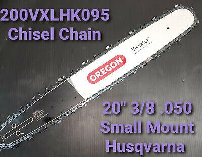 "20/"" Oregon Versacut Bar /& Chain Husqvarna 55 Rancher Chainsaw 200VXLHK095"