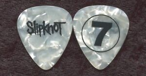 SLIPKNOT-2008-Hope-Tour-Guitar-Pick-MICK-THOMSON-7-custom-concert-stage
