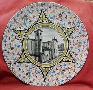 Piatto-in-ceramica-firmato-G-Peveri-Cartoleria-Bobbio-diametro-cm-37-5-Antikidea