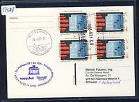 57608) easyJet FISA So-LP Berlin - Genf Schweiz 23.4.2009, card feeder mail MeF