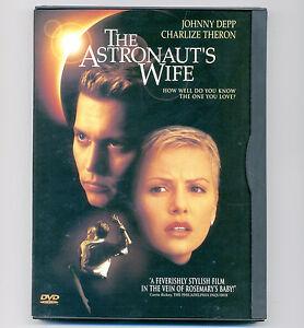 The Astronaut's Wife DVD R movie Johnny Depp, Charlize ...
