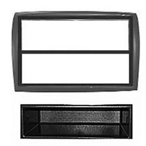 FP-01-13-Citroen-Jumper-Black-Single-Din-Fascia-Facia-Panel-Adaptor-Surround-CD