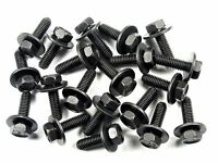 Body Bolts For Kia- Qty.20- M6-1.0 X 20mm- 10mm Hex- 17mm Loose Washer- 171