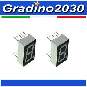 2x-Display-7-Segmenti-ROSSO-Catodo-Comune-7-Segment-RED-Common-Cathode