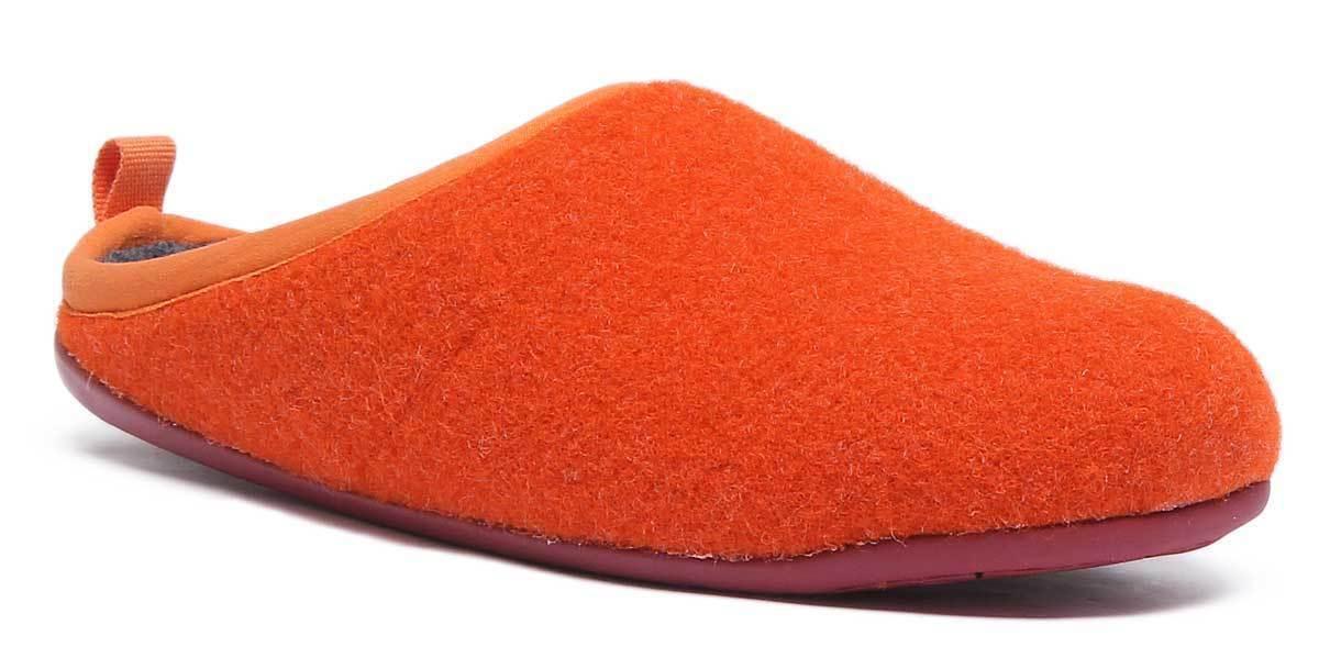 Camper Wabi femmes Wool Felt Coral Slipper Sandals UK Taille 3 - 8