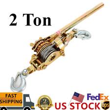 2 Ton Industrial Heavy Duty Cable Hoist Hook Puller For Constructionwork Shop