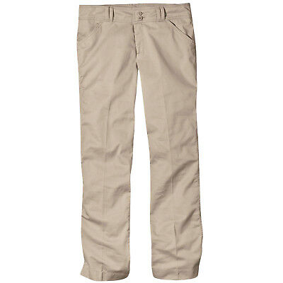 Juniors Flare Leg Stretch Pants BLACK Size 9 NWT DICKIES 71969 Girls