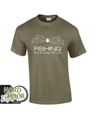 Carp Fishing T shirt mens Carp Fishing Bank Lake clothing Boilie pop ups style 2