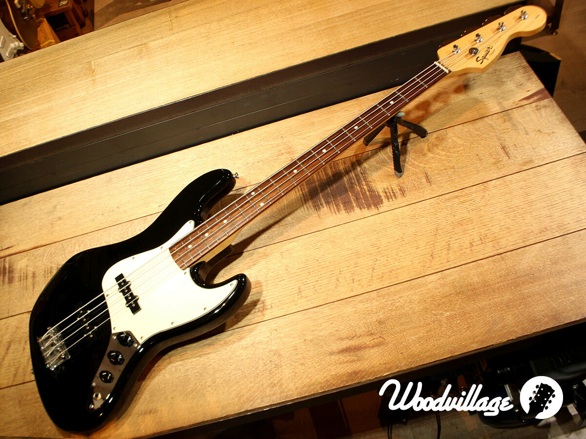 Squier by Fender Affinity Series Jazz Bass JAPAN beautiful rare EMS F S