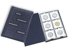 60 Pocket Coin Holder Flip Album 5x7 NUMIS LIGHTHOUSE 2x2 Storage Book Case