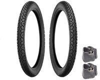 Shinko Moped Tire Tube Package 17 X 2.25 Honda Pa50 Pa50ii Hobbit Camino
