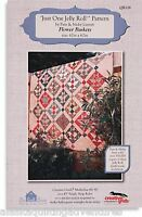 Quilt Pattern Flower Baskets Just One Jelly Roll Pattern - The Quilt Room