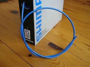 1 Meter Nos Shimano SLR 5mm Brake Cable Housing Blue Road//Mountain//Hybrid
