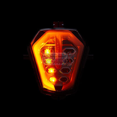 LED Integrated Tail Light Turn Signals For Suzuki GSXR1000 2003 2004 GSX-R 1000