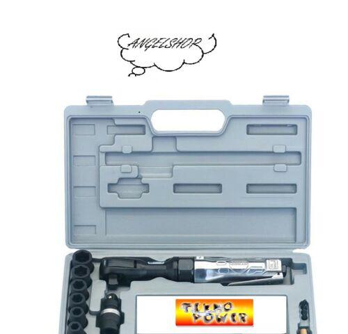 Kit Chiave Chiavi a Cricchetto ad Aria Attacco 1//2 Per Compressore 17 Pezzi