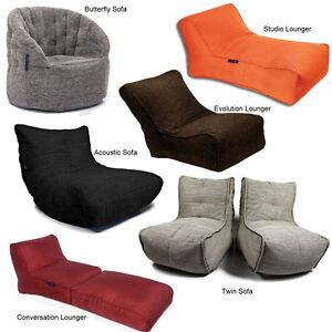 Orig Ambient Lounge Sitzsack Möbel Stoff Sofa Sessel Kissen Versch