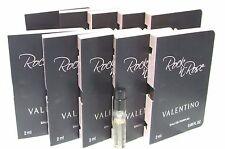 10Pc LOT- Valentino ROCK & ROSE (.06X/2ML EACH) Women Eau De Perfume VIAL