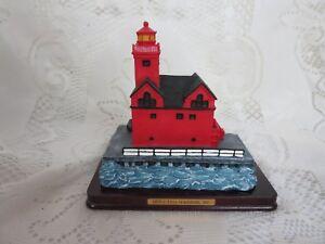 Michagan,USA Souvenir Lighthouse Point Collection-Holland Harbor Lighthouse