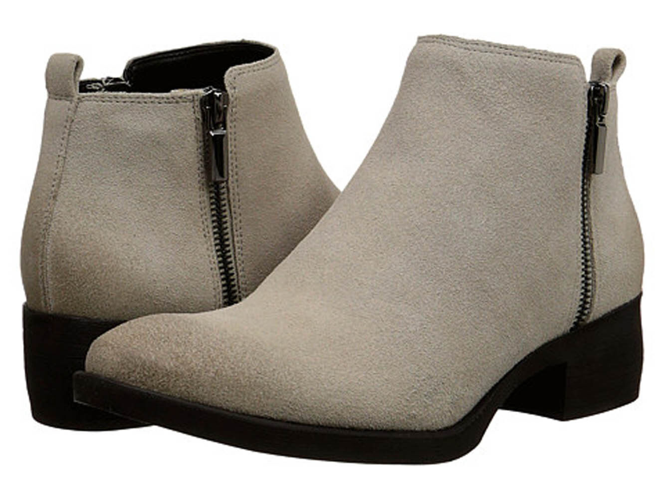 Kenneth Cole New York Women's Levon Chelsea Ankle Booties Cappuccino 6M - NEW