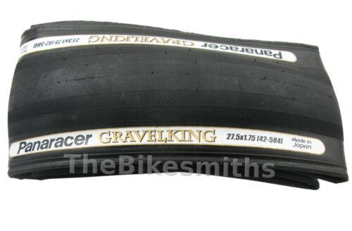 """1or 2Pak Panaracer GravelKing 27.5/"""" x 1.5// 1.75// 1.90 Bike Tire Gravel King 650B"""