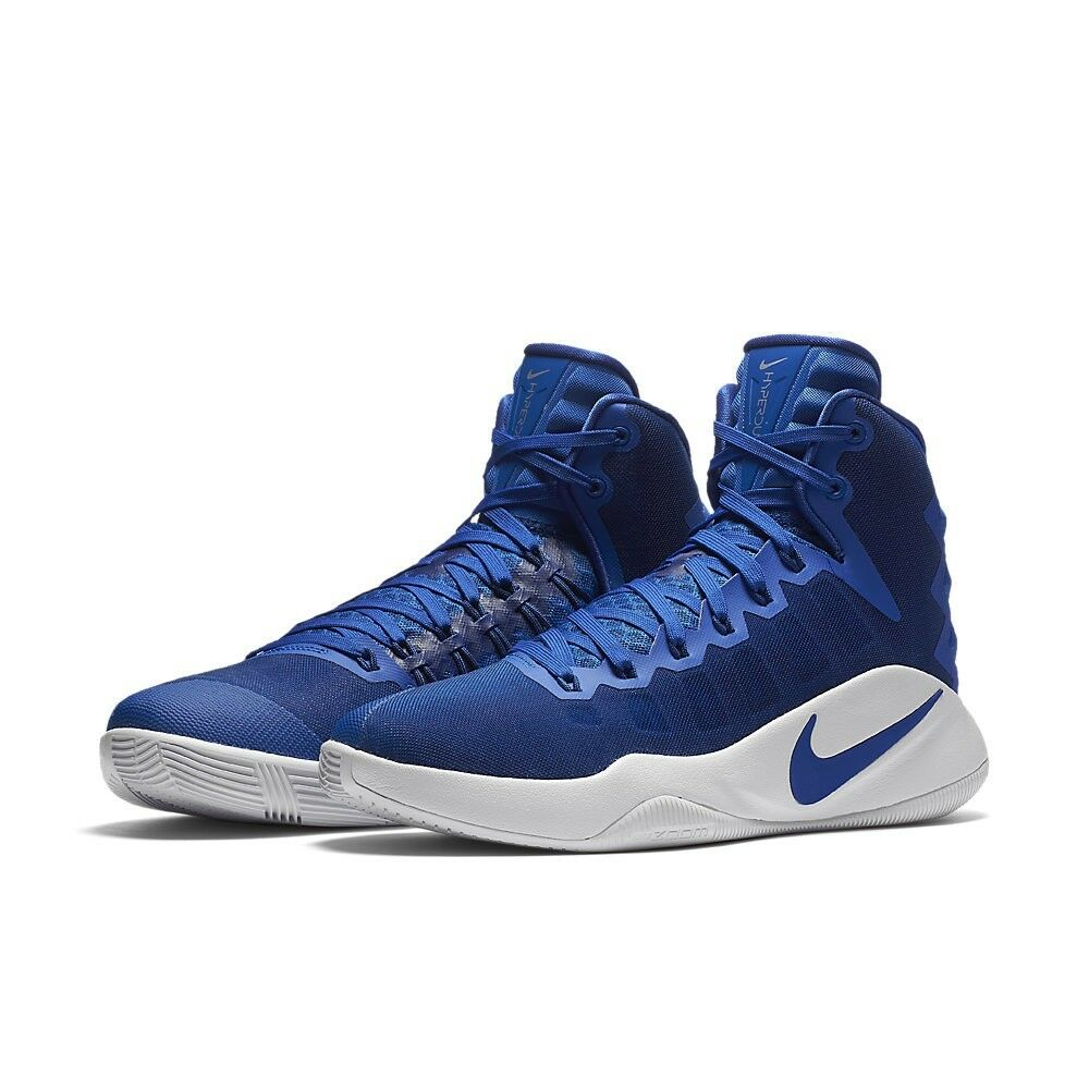 Nike Hyperdunk 2016 TB Basketball Shoes Royal Blue White 844368-441 Mens Size 18