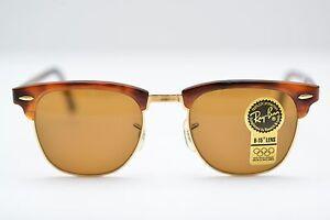 88180e7798 New Vintage Ray Ban Wayfarer Clubmaster II W1117 Blonde Tortoise NOS ...