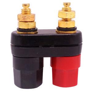 Dual-Binding-Post-Adapter-Speaker-Amplifier-Audio-Plug-Terminal-Banana-Jack