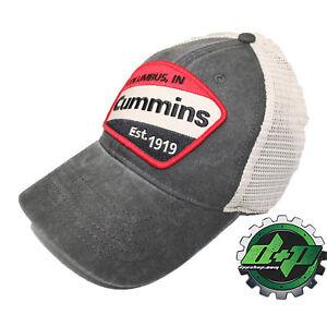 222e98a20d98b Cummins Vintage baseball hat cap Dodge diesel truck red stripe patch ...