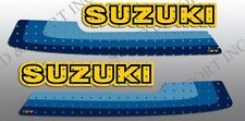SUZUKI 1980 RM125 RM 125 WICKED TOUGH TANK DECALS GRAPHICS LIKE NOS