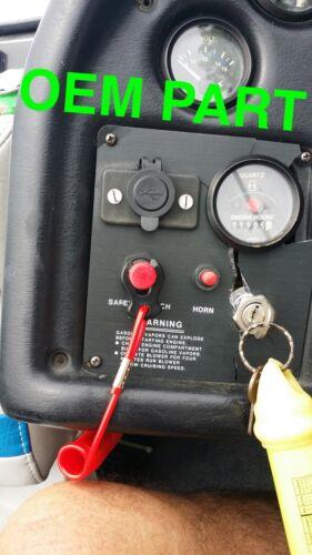 Key Switch Panel 12v outlet LH Ignition panel Mastercraft Prostar Dash Panel