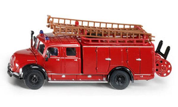 NEW SUPER SIKU 4115 Magirus Auxiliary Fire Engine Tender 1 50 Diecast Model