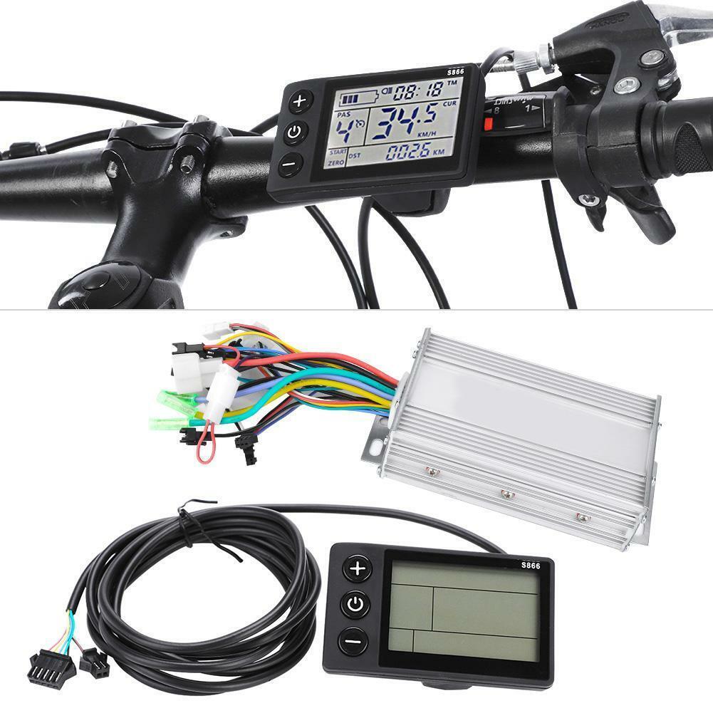 Wasserdichtes LCD-Display Elektrofahrrad EFahrrad Scooter Brushless Controller