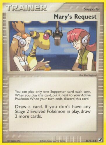 Reverse Holo Uncommon Cards Pokemon TCG EX Unseen Forces