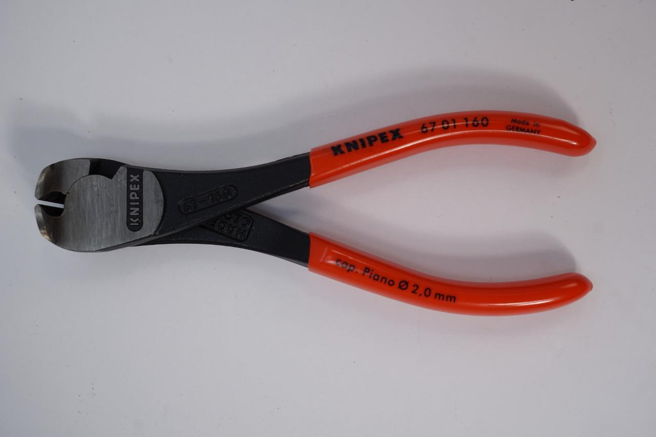 74 01 160 Knipex 6.25 inch HIGH LEVERAGE DIAGONAL CUTTERS