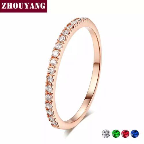 Womens Cubic Zirconia Wedding fashion ring