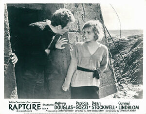 Rapture original lobby card patricia gozzi dean stockwell for Gozzi arredamenti ebay