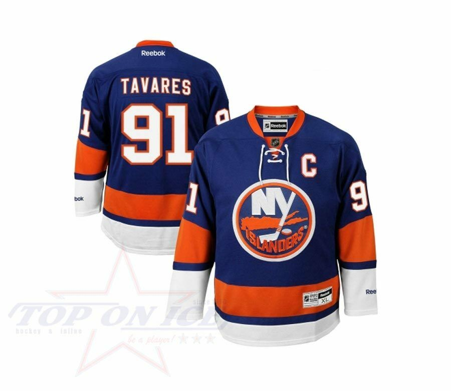 Camiseta Reebok NHL NY Islanders Premier Home TAVARES