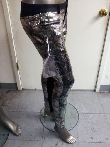 NEW bebe Addiction Sequin Pants~ HAND EMBELLISHED!