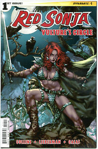 RED-SONJA-Vulture-039-s-Circle-1-A-NM-She-Devil-Anacleto-2015-more-RS-in-store