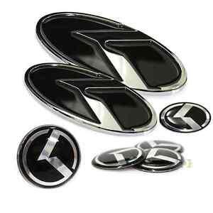 Genuine-K-LOGO-Emblem-Badge-7pc-Grille-Front-Trunk-Rear-Badges-fit-KIA-Optima
