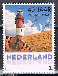 Nederland-40-jaar-postaumaat-uit-boekje-PQ8-gegomd-3012-Vuurtoren-Lighthouse
