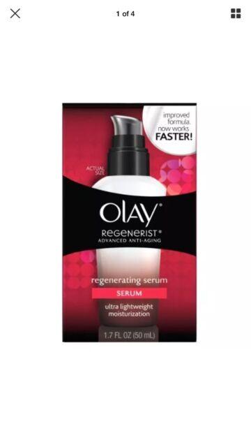 Olay Regenerist Advanced Anti-Aging Regenerating Serum Moisturizer, 1.7 Oz 50ml